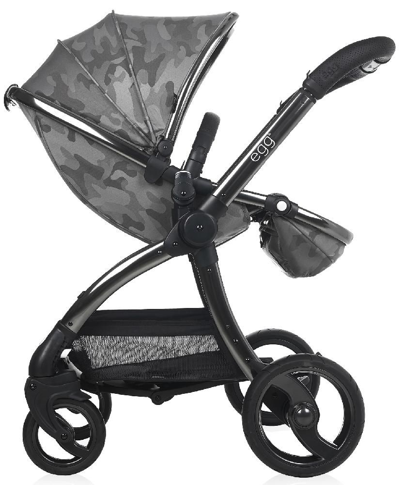 Прогулочная коляска Egg Stroller (Camo Grey & Anodised Chassis)